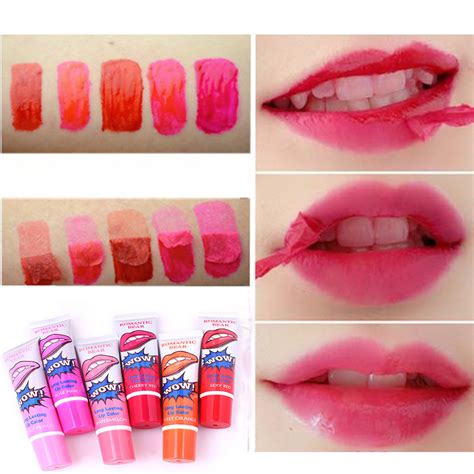 Lipgloss Wow by Buy Wow Pack Of 6 Lasting Lip Color At Best
