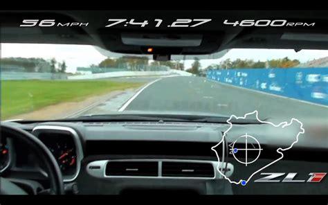 GM Records 7:41 Camaro ZL1 Nuerburgring Lap Time :: News