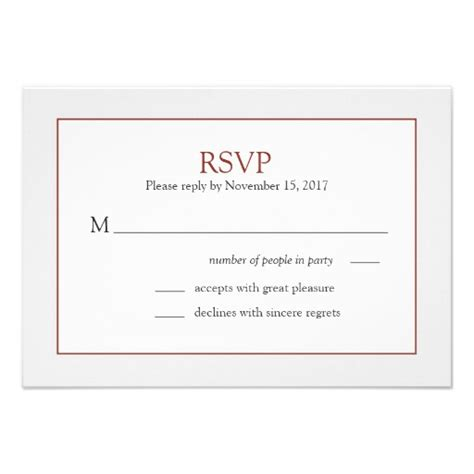 Response Cards For Wedding Template rsvp cards wedding cards wedding templates