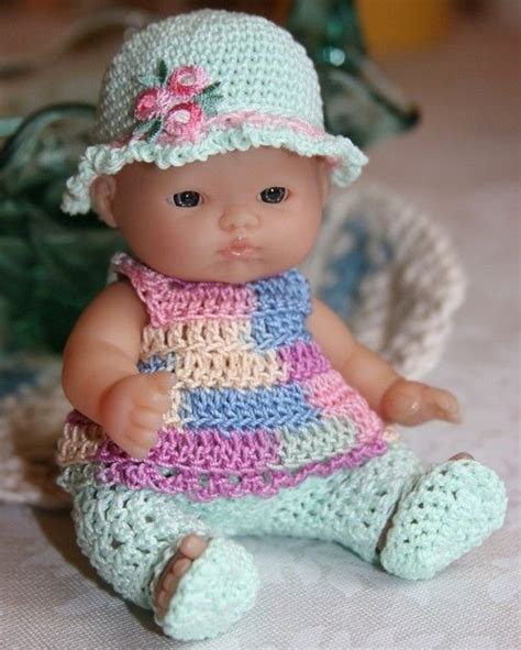 crochet pattern doll clothes 126 best baby dolls clothing crochet knit images on
