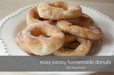 Handmade Donuts - easy doughnuts recipe dishmaps