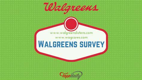 Www Wagcares Com Sweepstakes - walgreenslistens take www wagcares com survey to win 3000