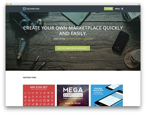 Best Wordpress Themes For Selling Digital Products 2017 Colorlib Product Selling Website Template