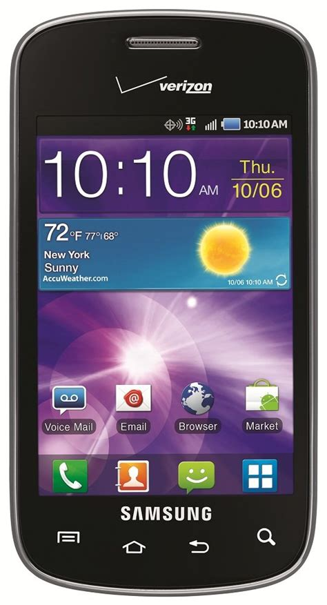 prepaid android phones samsung illusion prepaid android phone verizon wireless best no contract phones devices