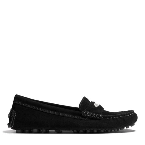 coach nicola loafer coach nicola loafer in black lyst