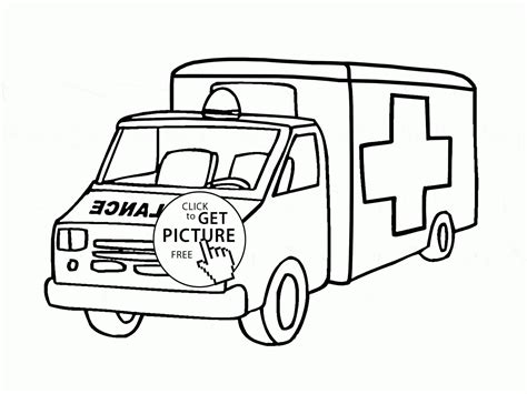 lego ambulance coloring pages lego ambulance car coloring page for kids