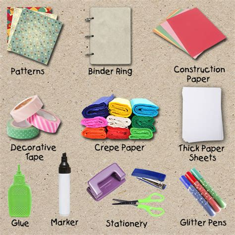 Materials To Make Paper - want to how to make a smash book from scratch read this