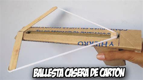 como hacer una trompeta de carton como hacer una ballesta casera facil y potente de carton