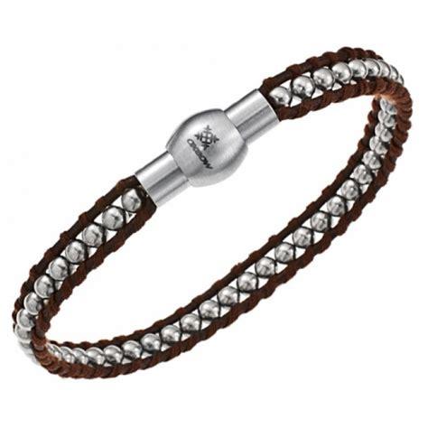 Bijoux Oxbow Bracelet, Collier, pendentif Bijoux Homme Oxbow en cuir et acier   Page 1
