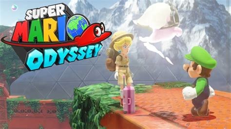 libro super mario odyssey kingdom super mario odyssey peach in the wooded kingdom luigi costume youtube