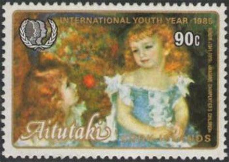 dipinto la bagnante seduta storia della pittura attraverso i francobolli