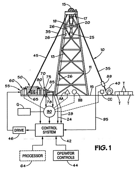 land rig layout oil rig diagrams images