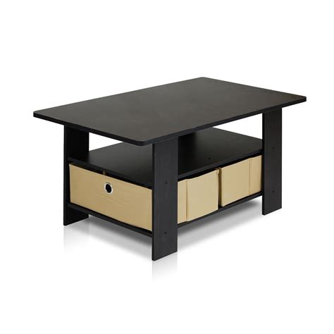 Coffee Table Desk Small Coffee Table Living Room Furniture Desk Home Storage Shelf Organizer Ebay