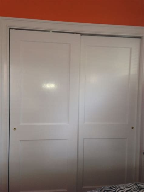 2 Panel Sliding Closet Doors by Sliding Doors Solid Wood 2 Panel In Montclair