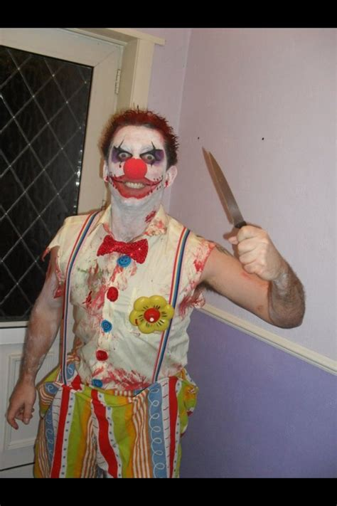 scary clown bo spked  pinterest scary