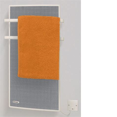 bathroom heat dimplex apl100 1kw radiant panel bathroom heater and towel