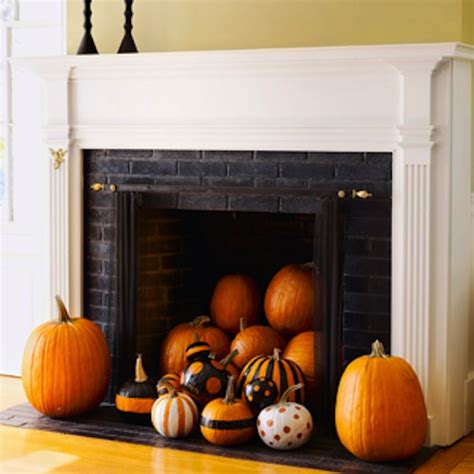 decorating pumpkins for fall 70 great mantel decorating ideas digsdigs