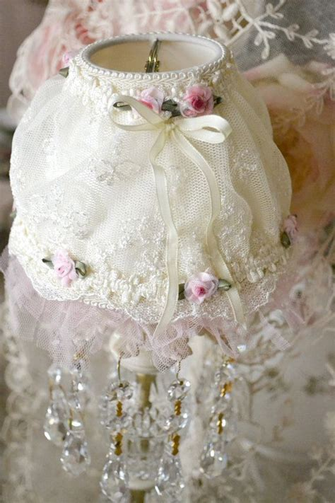 136 best shabby chic lace ls images on pinterest