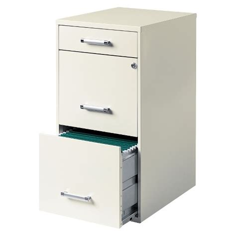 3 Door Filing Cabinet Hirsh 3 Drawer File Cabinet Steel Target
