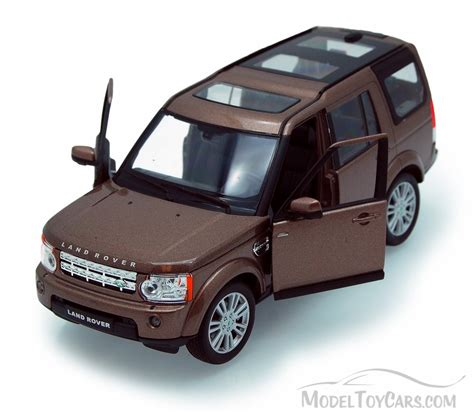 toy range rover land rover discovery brown welly 24008 1 24 scale