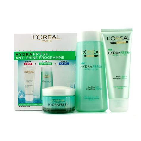 L Oreal Hydrafresh Toner l oreal hydrafresh anti shine programme icy toner 200ml