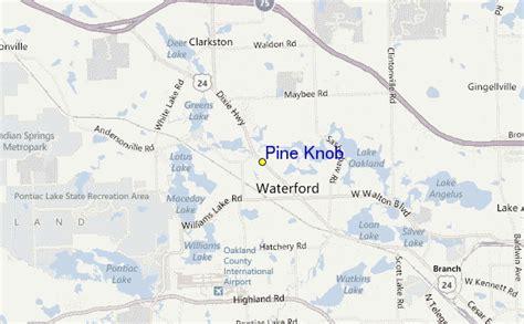 pine knob ski resort guide location map pine knob ski