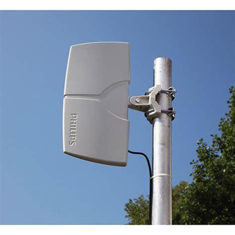 Antena Tv Digital Philips antena digital externa lificada 22db philips sdv8625t 55 cinza philips americanas