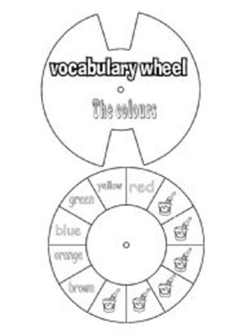 verb wheel template teaching worksheets wheels