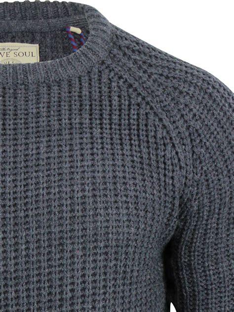 knitting pattern raglan jumper mens jumper brave soul konstantin fisherman knit crew neck