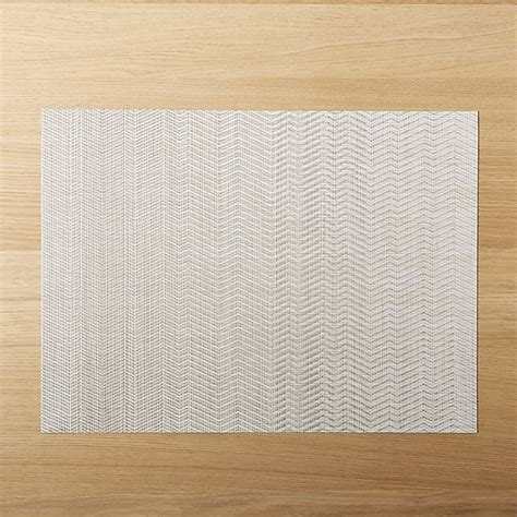 cb2 placemats chilewich wave chevron placemat cb2