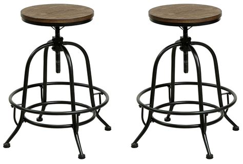 Oak Counter Height Stools by I Medium Oak Counter Height Stool Set Of 2