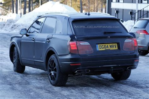 bentley bentayga 2015 2016 bentley bentayga spy
