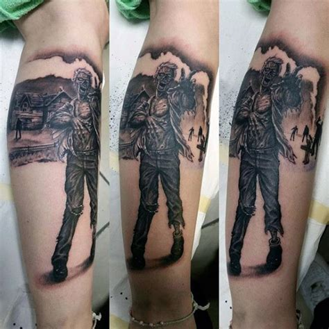 apocalyptic tattoo 90 tattoos for masculine walking dead designs