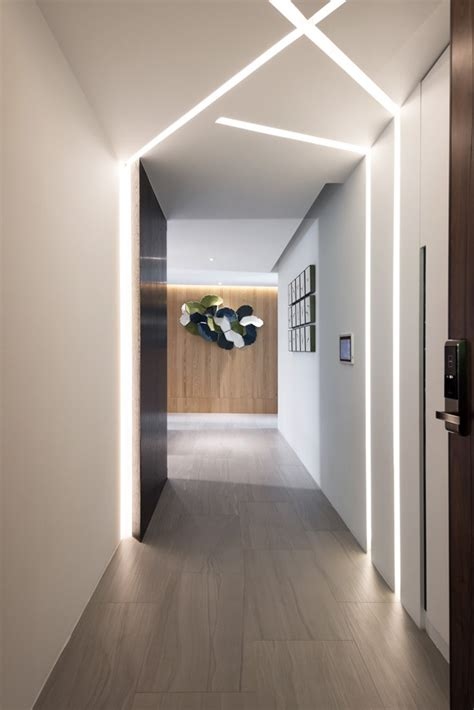 illuminazione corridoi illuminazione moderna per interni luce incorporata e