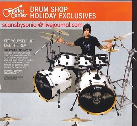 avenged sevenfold fan club avenged sevenfold images the rev pacific 808 rev drum kit