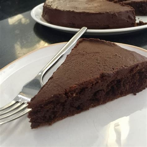french chocolate cake  lady  france