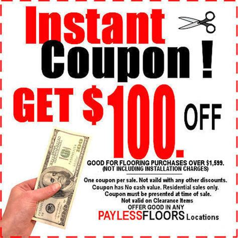 coupons at payless flooring stores attleboro