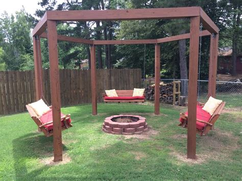 fire pit with swings fire pit swings house pinterest fire pits fire and