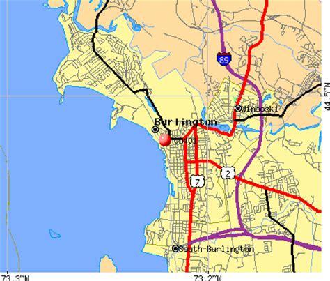 burlington vt map burlington vt zip code map zip code map
