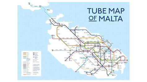 printable road map of malta minister s bus ride to work timesofmalta com