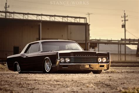 lincoln continental 66 slammed 66 lincoln continental land yacht rod authority