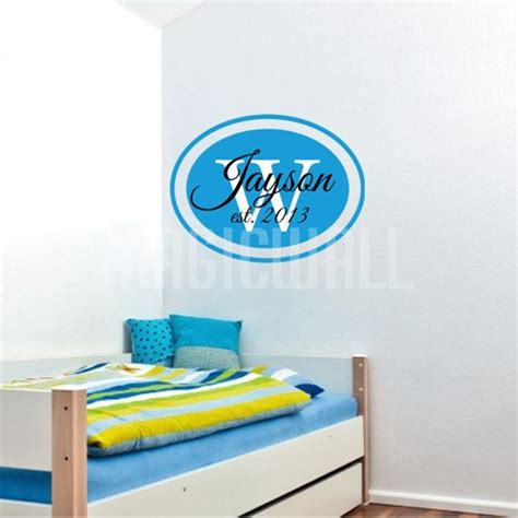 custom wall stickers canada wall decals oval personalized name wall stickers canada
