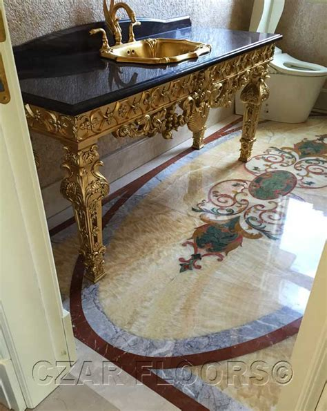 New Classical Floors   Marble Floors   Inlaid Wood