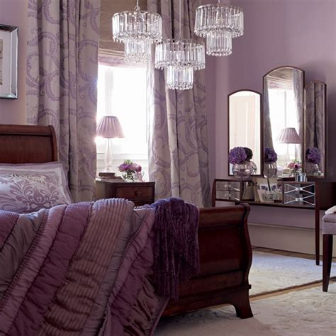 ideas for purple bedrooms purple and white bedroom combination ideas