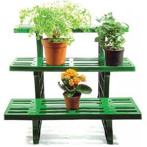 Plant Etagere Outdoor 3 tier etagere potted plant display stand for indoor outdoor garden use ideal for