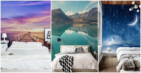 astonishing wall murals     bedroom