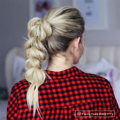 hairstyles through school vine pull through braid easy back to school hairstyles to let