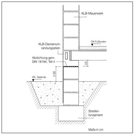 Horizontale Abdichtung Mauerwerk by Klb Kellermauerwerk Und Abdichtungen Trockene Keller Mit