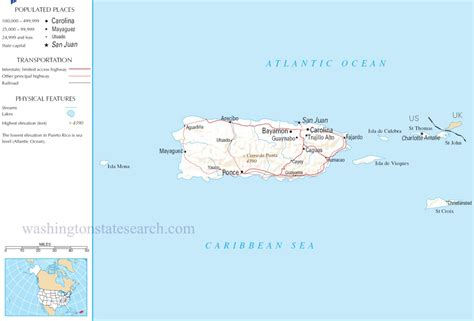 map of the united states and puerto rico puerto rico map a large detailed map of puerto rico usa