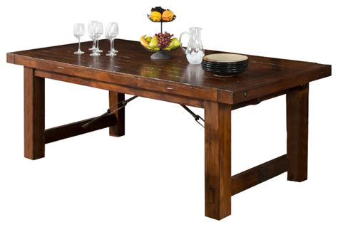 craftsman style dining room table sunny designs inc tuscany extension table dining
